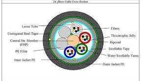 فیبر نوری 24 core